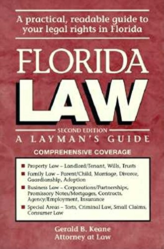 9781561640447: Florida Law: A Layman's Guide
