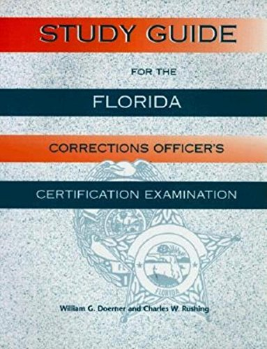 9781561641468: Study Guide for the Florida Corrections Officer's Certification Examination