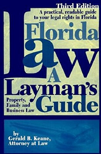 9781561641871: Florida Law: A Layman's Guide