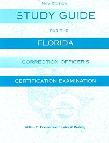 9781561642793: Study Guide for the Florida Corrections Officer's Certification Examination
