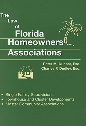 9781561644056: Law of Florida Homeowners Associations 7th ed.