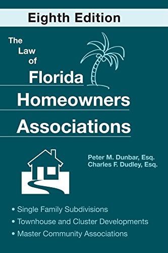 9781561644834: The Law of Florida Homeowners Associations