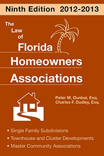 9781561645596: The Law of Florida Homeowners Associations