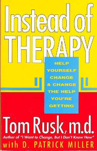 9781561700226: Instead of Therapy: Help Yourself Change and Change the Help You're Getting