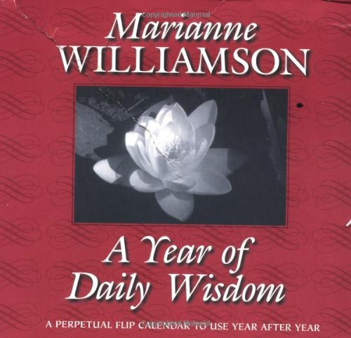 9781561703951: A Year of Daily Wisdom Perpetual Flip Calendar