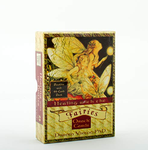 9781561707850: Healing with the Fairies Oracle Cards: Booklet and 44-Card Deck (Large Card Decks)