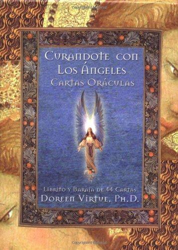 9781561709106: Curandote Con Los Angeles Cartas Oraculas (Spanish Edition)