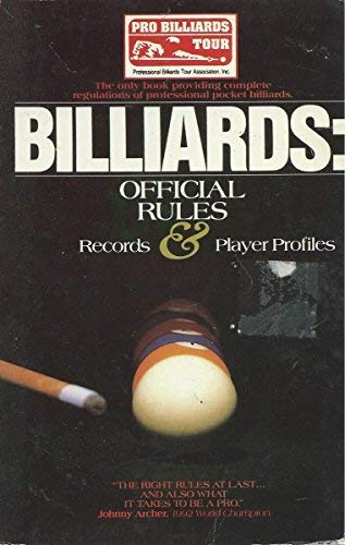9781561712106: Billiards: Official Rules & Records Book