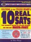 Solutions to the College Board: 10 Real: Knapp, Valerie