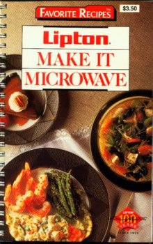 9781561730599: Lipton Make It Microwave (Favorite Recipes)