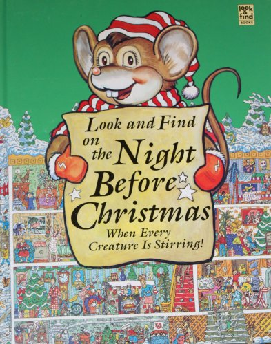 9781561734214: Look and Find on the Night Before Christmas When Every Creature Is Stirring (Look and Find Series)