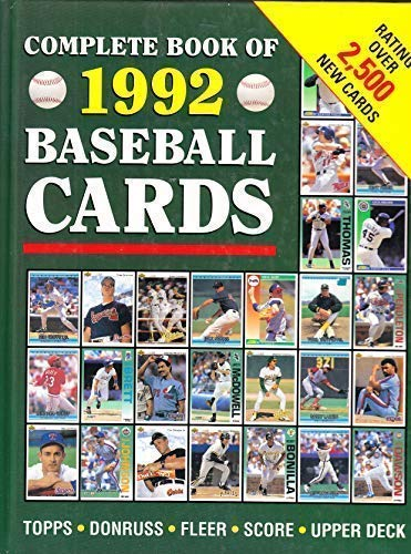 9781561734412: Complete Book of 1992 Baseball Cards