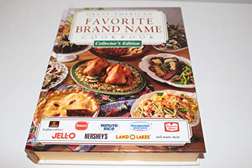 Great American Brand Name Cookbook - Collector's Edition: Anonymous