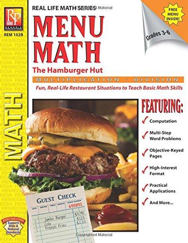 Menu Math: The Hamburger Hut Multiplication And
