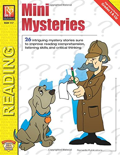 Mini Mysteries - Reading Reproducible Worksheets: Martha C. Reith