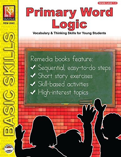 9781561754106: Primary Word Logic: Vocabulary and Thinking Skills for Young Students (Grades 1-3) (Basic Skills)