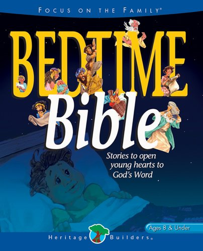 Bedtime Bible: Stories to open young heart's: Lightwave