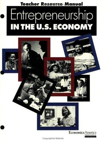 9781561834853: Entrepreneurship in the U.S. economy