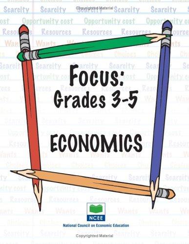 9781561835355: Focus: Grades 3-5 Economics