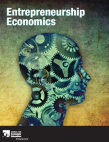 9781561837359: Entrepreneurship Economics