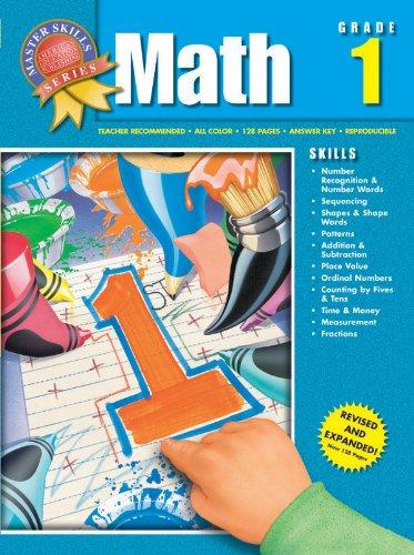 9781561890118: Master Skills Math, Grade 1