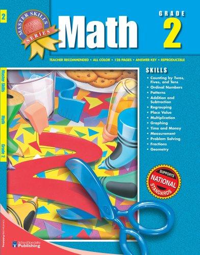 9781561890125: Master Skills Math, Grade 2