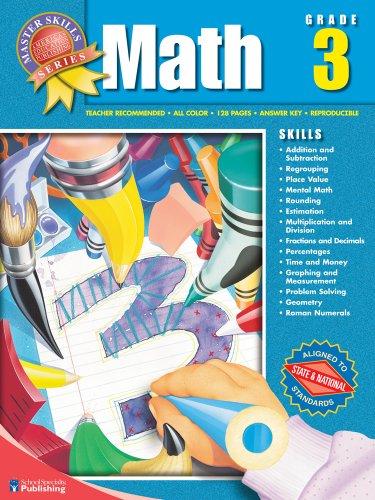 9781561890132: Master Skills Math, Grade 3