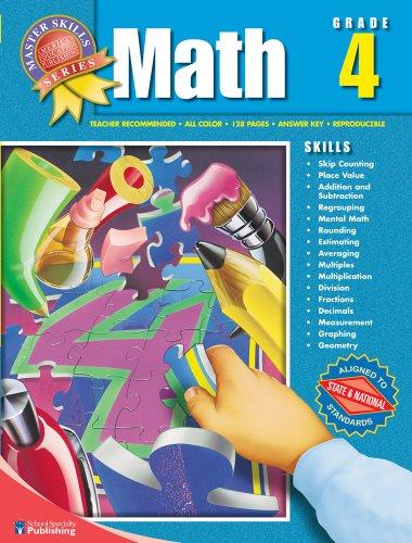 9781561890149: Master Skills Math, Grade 4