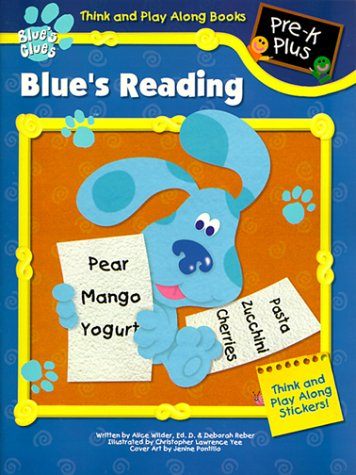 Blue's Reading with Sticker (Think and Play Along Workbooks): Landoll