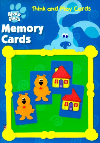 9781561890774: Blue's Clues Memory Cards (Think and Play Cards)