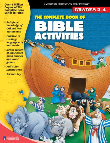9781561893836: The Complete Book of Bible Activities