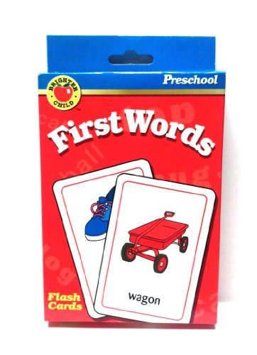 9781561894611: First Words (Brighter Child Flash Cards)
