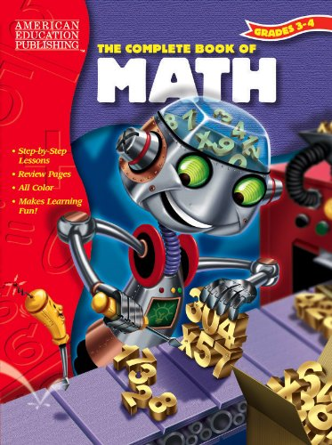9781561895052: The Complete Book of Math, Grades 3-4