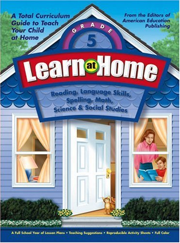 9781561895137: Learn at Home, Grade 5