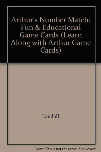 Arthur's Number Match: Fun & Educational Game Cards (Learn Along with Arthur Game Cards): ...
