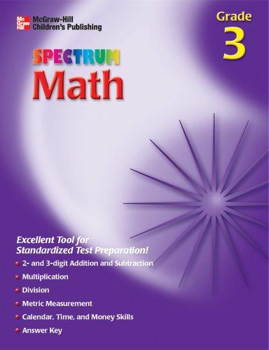 9781561899036: Spectrum Math, Grade 3 (McGraw-Hill Learning Materials Spectrum)