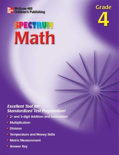 9781561899043: Spectrum Math, Grade 4 (McGraw-Hill Learning Materials Spectrum)