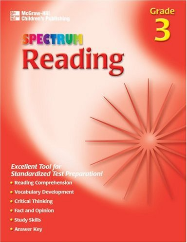 9781561899135: Spectrum Reading, Grade 3 (McGraw-Hill Learning Materials Spectrum)