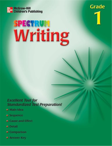9781561899319: Spectrum Writing, Grade 1 (McGraw-Hill Learning Materials Spectrum)