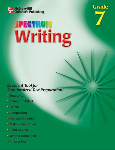 9781561899371: Spectrum Writing, Grade 7 (McGraw-Hill Learning Materials Spectrum)