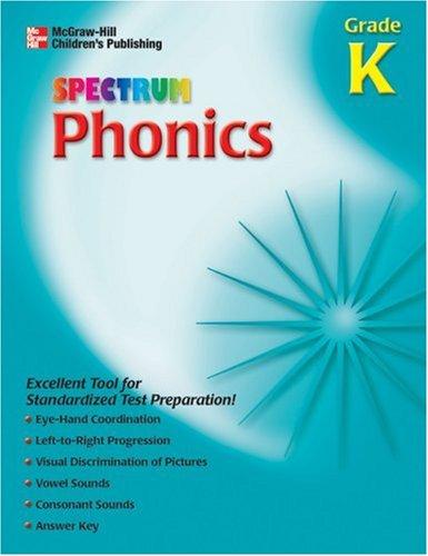 9781561899401: Spectrum Phonics, Kindergarten