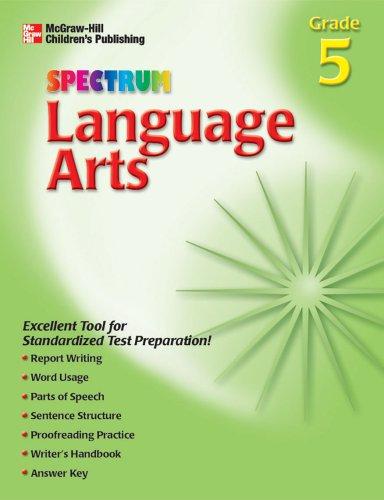 9781561899555: Spectrum Language Arts, Grade 5