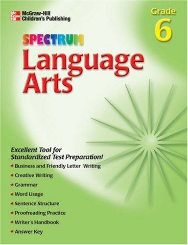 9781561899562 Spectrum Language Arts Grade 6 Spectrum