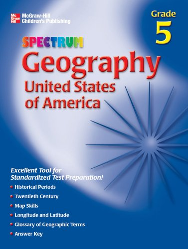 9781561899654: Spectrum Geography, Grade 5: United States of America