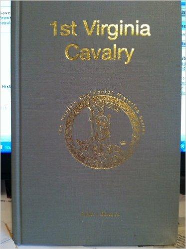 1ST VIRGINIA CAVALRY: Driver, Robert J. Jr.