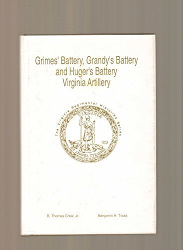 Grimes' Battery, Grandy's Battery and Huger's Battery: Crew, R. Thomas,