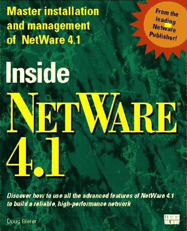 9781562052911: Inside Netware 4.1