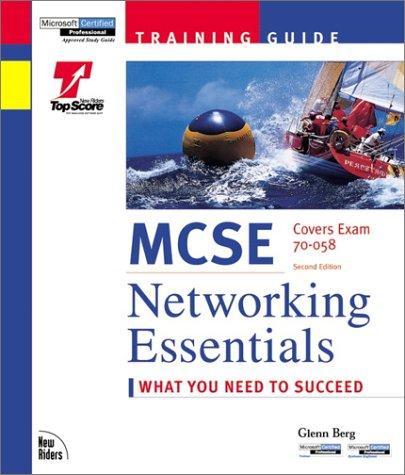 9781562059194: McSe Networking Essentials: Training Guide : Exam 70-058