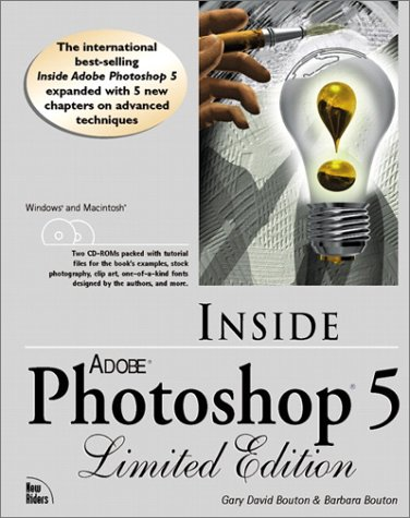 9781562059514: Inside Adobe Photoshop 5 Limited Edition (with 2 CD-ROMs) with CDROM
