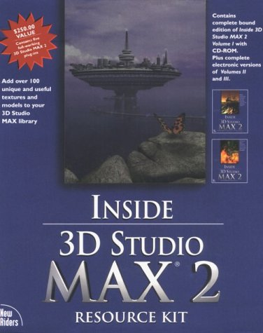 9781562059538: Inside 3d Studio Max 2 Resource Kit